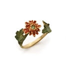 〔APM飾品〕日本Palnart poc 秋日歌頌高雅和菊戒指