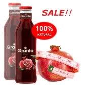 限量即期品優惠 - 格朗特純天然石榴/混合果汁系列(買一箱送一瓶-新品推薦~ 進口俄羅斯天然礦泉水)
