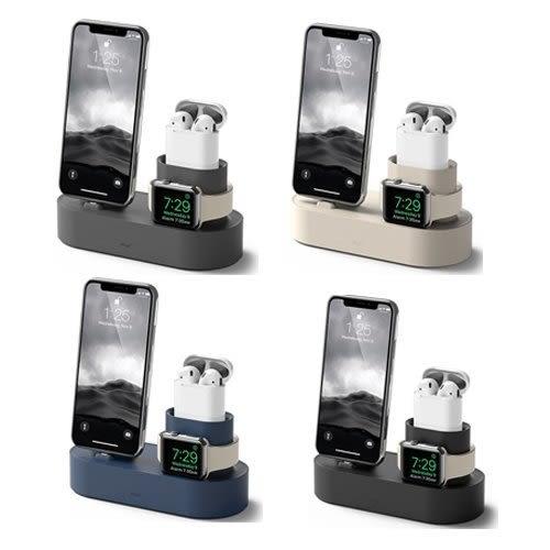 【愛瘋潮】elago Apple 3合1充電座 - 整合 iPhone / AirPods / Apple Watch