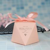 喜糖盒子 2019新款創意喜糖盒婚禮糖果盒子森系歐式糖盒紙盒結婚喜糖禮盒裝