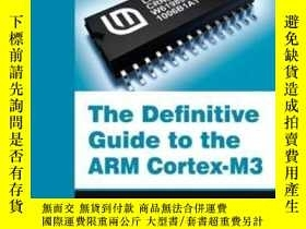 二手書博民逛書店The罕見Definitive Guide To The Arm Cortex-m3Y256260 Josep