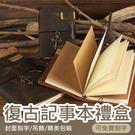 【可刻文字/送多樣贈品】手工牛皮旅行本 記事本 日記本 手帳 送黃銅筆-多色【AAA2642】