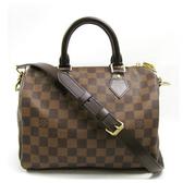 Louis Vuitton LV N41368 N41181 Speedy 25 棋盤格紋附背帶手提包 全新 預購【茱麗葉精品】