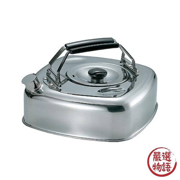 【日本製】【杉山金屬】日本製 方型麥茶壺 熱水壺 2.8L(一組:3個) SD-13750 - 杉山金屬
