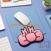 蝴蝶結鼠標墊護腕硅膠創意記憶棉鍵盤手托可愛卡通女辦公小號手腕墊【輕派工作室】