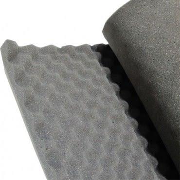 耐燃波浪吸音棉 有背膠 1.5 x36 x60