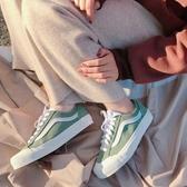 KUMO SHOES-現貨Vans Style 36 sf 權志龍GD同款 綠色男女款滑板帆布鞋VN0A3MVLT6A