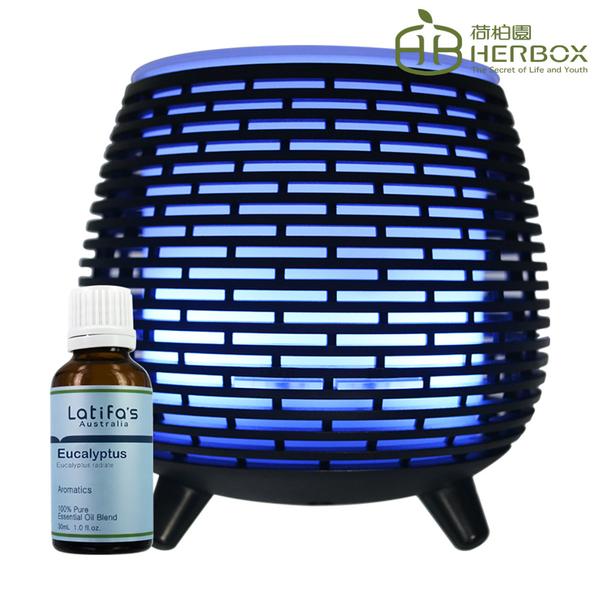 荷柏園Herbox 尤加利精油 30ml + 光影水氧機