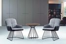 【南洋風傢俱】室內餐桌椅系列-實尚小圓几休閒桌椅組 CX895-1 CX606-5