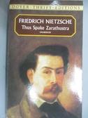 【書寶二手書T1/原文小說_JHY】Thus Spake Zarathustra_Friedrich Nietzsche