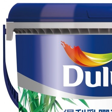 Dulux 得利 竹炭健康居抗甲醛乳膠漆 平光 雲空藍 1G(加侖)