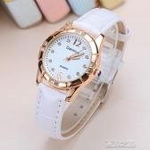 手錶女-指針手錶男女學生韓版簡約休閒潮流ulzzang夜光大氣成人 現貨快出