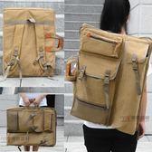 畫架包 韓版學生休閒帆布畫袋 美術素描寫生繪畫後背背畫板包 4K防水畫包 曼慕衣櫃 JD