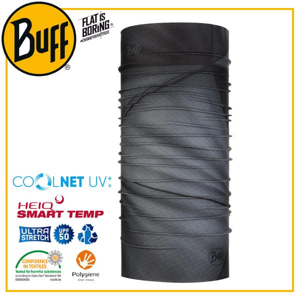 【BUFF 西班牙 Coolnet 抗UV頭巾 流動輕霧】119347/圍脖/帽子/口罩/圍巾/吸溼排汗