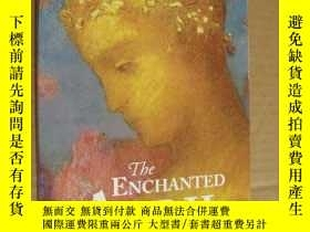 二手書博民逛書店THE罕見ENCHANTED APRIL 英文原版 16開 紙張