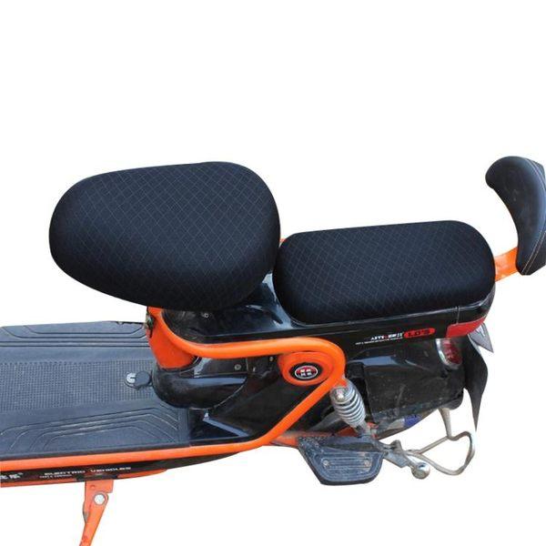 電動自行車坐墊套電瓶車防曬透氣坐墊套電動車座套座墊套四季通用 igo 范思蓮恩