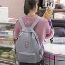 wei-ni 百搭休閒雙肩包 旅行購物袋 輕巧收納大容量萬用包 旅行包 單肩包 後背包