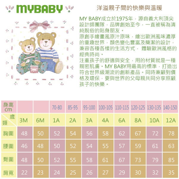 【愛的世界】小熊伙伴長袖綁帶式包屁衣2件組/6個月~1歲-台灣製- ★幼服推薦