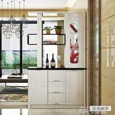 入戶客廳雙面家用玄關櫃鞋櫃現代簡約隔斷門廳酒櫃進門裝飾屏風 QM依凡卡時尚