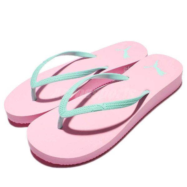 【粉粉DER】Puma 拖鞋 First Flip Platform 粉紅 粉藍 夾腳拖 厚底 女鞋【PUMP306】 36244701