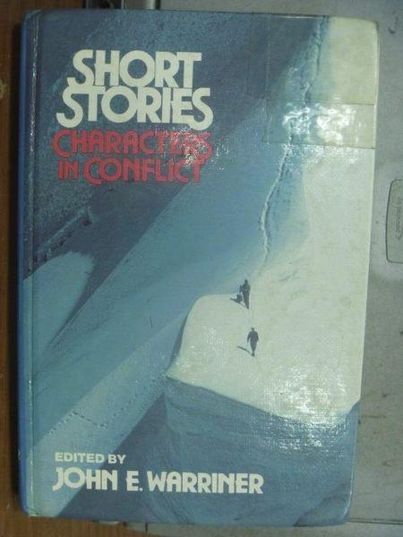 【書寶二手書T4/原文小說_ODT】Short Stories Characters in Conflict