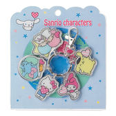《Sanrio》SANRIO世界同心系列金屬人物鐵牌鑰匙圈★funbox生活用品★_690082N