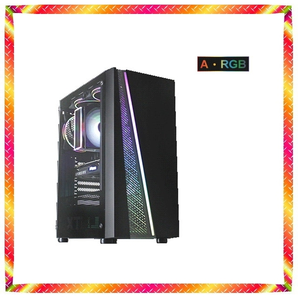 華碩 RGB全景鋼化玻璃 十代 i5-10600KF GTX1650S 極致工藝電腦