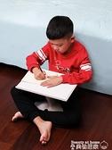 移動電腦桌 小天床上小桌子兒童學習寫字桌家用臥室坐地可折疊簡易書桌學生XL 【618 大促】