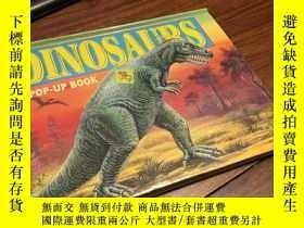 二手書博民逛書店Dinosaurs罕見pop up book 恐龍立體聲Y429456 Grandreams 出版1995