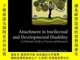 二手書博民逛書店Attachment罕見in Intellectual and Developmental Disability: