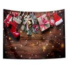 聖誕布置/交換禮物/送1.5米星星燈//聖誕節布置裝飾掛布-禮物吊飾(沙灘巾 背景布 )【半島良品】