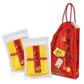 豐滿生技~福氣薑黃麵線500公克×2入/盒(禮盒)