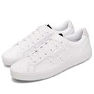 adidas 休閒鞋 SLEEK W 白...