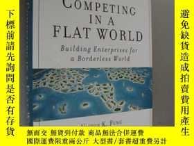 二手書博民逛書店Competing罕見in a Flat World:Build