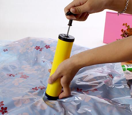【TT252】家居必備 真空壓縮袋收納袋專用便攜式手動抽氣泵抽氣筒
