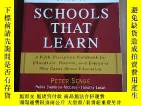 二手書博民逛書店Schools罕見that learnY12800 Peter Senge New York, New Yor