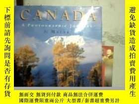 二手書博民逛書店CANADA--A罕見PHOTOGRAPHIC JOURNEY(