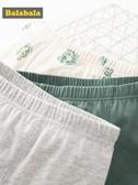 巴拉巴拉男童內褲12-15歲四角平角褲棉兒童短褲時尚透氣男三條裝
