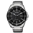 CITIZEN Eco-Drive  新上市光動能簡約個性腕錶 AW1588-57E 黑面