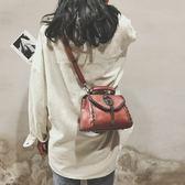 chic小包包女2018新款潮迷你正韓ins超火包斜挎包復古百搭小方包【萬聖節鉅惠】
