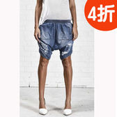 OneTeaspoon牛仔短褲 FORD CALYPSOS  - 女(牛仔藍)