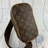 BRAND楓月 LOUIS VUITTON LV 路易威登 M51870 原花胸包 腰包 小背包 側背包 斜背包 小包