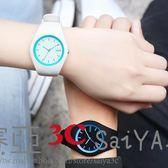 手錶女學生韓版簡約夜光石英錶