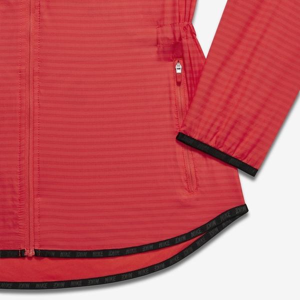NIKE輕量女子立領運動外套FLIGHT CONVERTIBLE(紅)725691-696