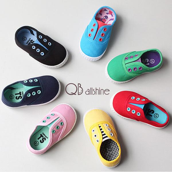 男童鞋 女童鞋 店長兒子女兒自留款 外銷韓國TS正品糖果配色帆布鞋 QB allshine
