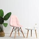 女生可愛ins家用靠背化妝凳子梳臥室網紅美甲小椅子簡約懶人書桌ATF 青木鋪子