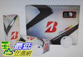 [COSCO代購]  W1135010 Bridgestone Tour B330 RXS 三層高爾夫球 12入 (3入 x 4盒)