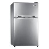 ↙0利率↙TECO 東元100公升雙門小冰箱R1001N 銀色 小鮮綠 2級能效【南霸天電器百貨】