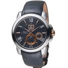 SEIKO精工 Premier 人動電能萬年曆腕錶 7D56-0AE0E SNP149J2