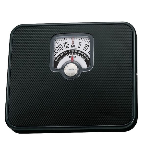 TANITA  BMI 指針式 機械體重計 黑色 HA-552